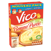 puree vico 500g nature