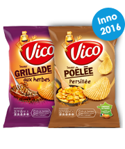 Chips aromatisées Vico Les Grill