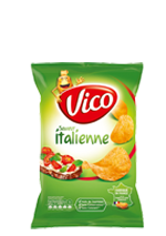 Chips aromatisée Vico saveur italienne