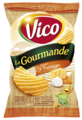 CHIPS Gourmande3Fromages120g